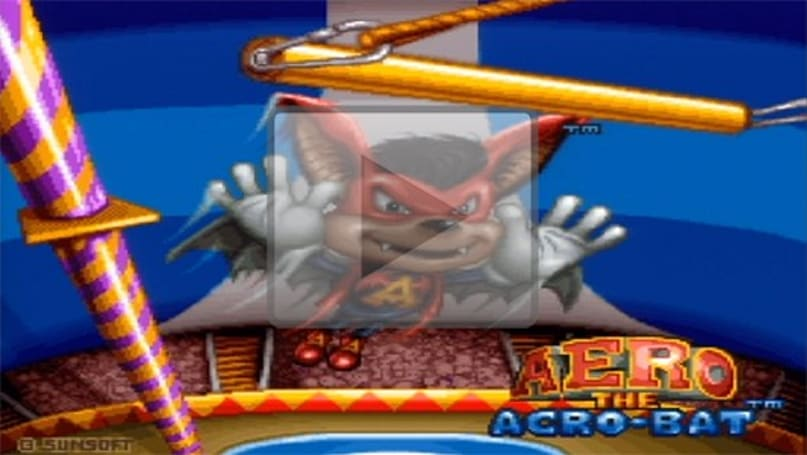 VC in Brief: Aero the Acro-Bat (SNES)