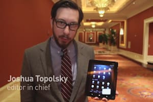 Vizio Tablet Hands-on Preview 2