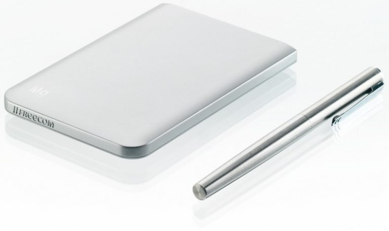 Freecom gets slim with Mobile Drive Mg portable hard drive, supports USB 3.0 and FireWire 800