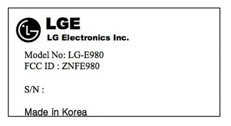 LG E980 arrives in the FCC's database with LTE: is this the Optimus G Pro for AT&T?