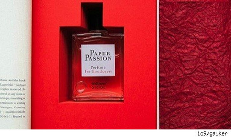 No Comment: Paper Passion perfume for e-booklovers
