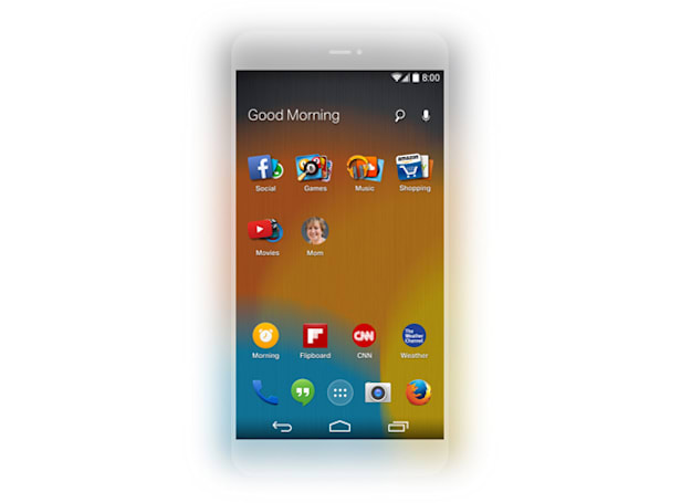 Mozilla reveals an adaptive Android home screen built around Firefox
