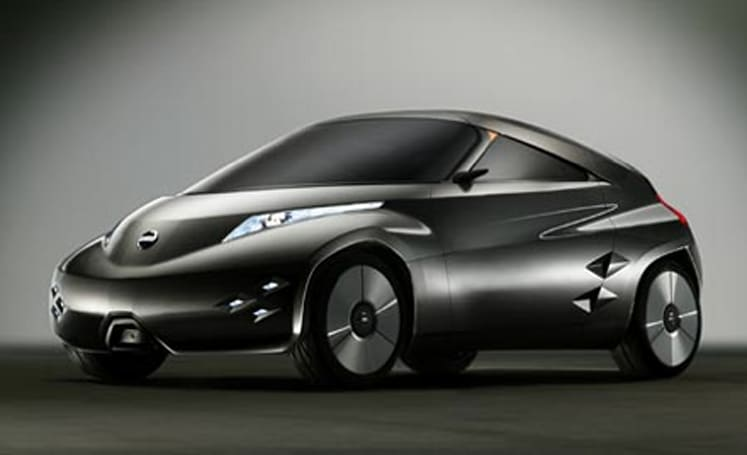 Nissan's Mixim all-electric concept car