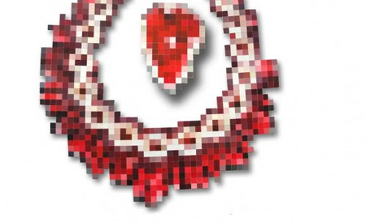 Pixel jewels not made of real jewels, still likely unaffordable