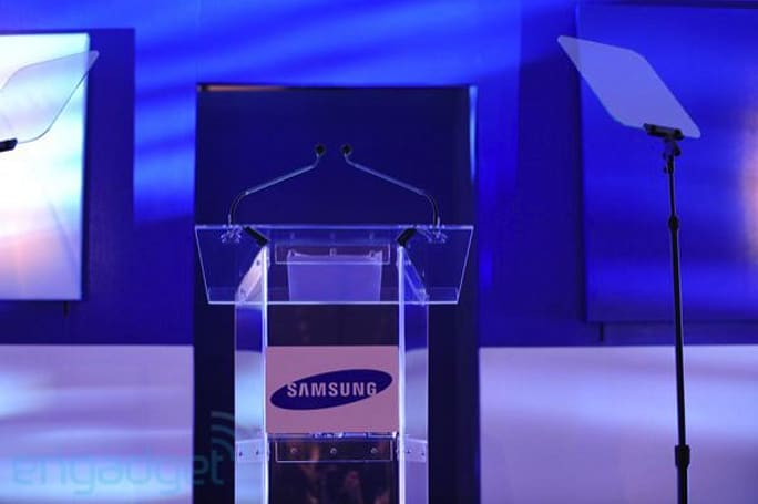 Live from Samsung's CES 2010 press conference