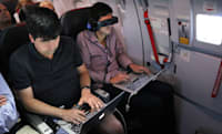 Hacking the friendly skies: creating apps for wearables at 36,000 feet