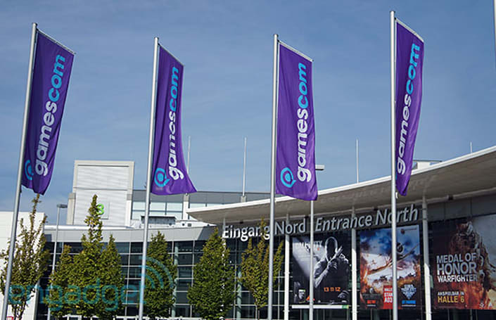 We're live from Gamescom 2012, in Cologne, Germany!