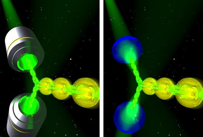 Researchers build a working tractor beam, on a very small scale