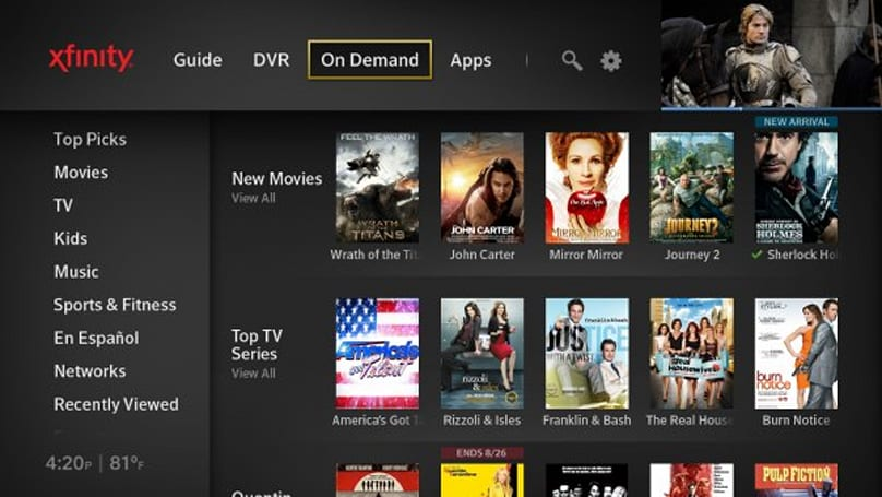 Comcast officially launches next-gen X1 DVR platform and iPhone remote app (update: video)