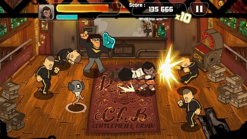 Combo Crew lets you beat 'em up with two fingers