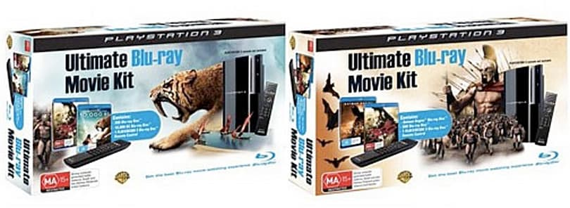 Australian PS3 Ultimate Blu-ray Movie Kit isn't as ultimate as you might expect