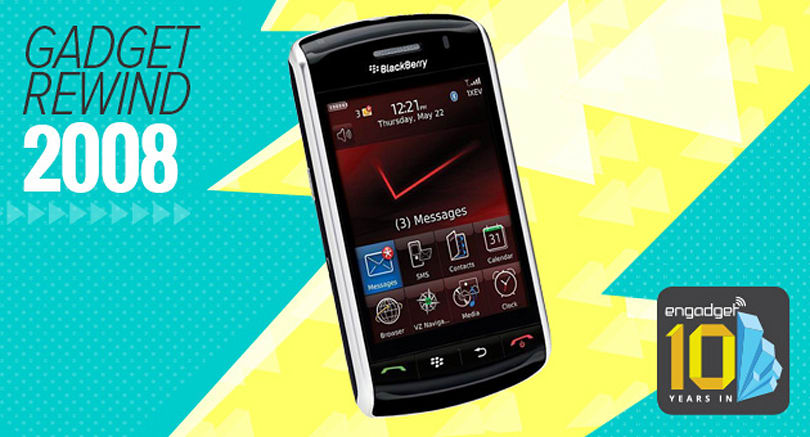 Engadget Rewind 2008: BlackBerry Storm