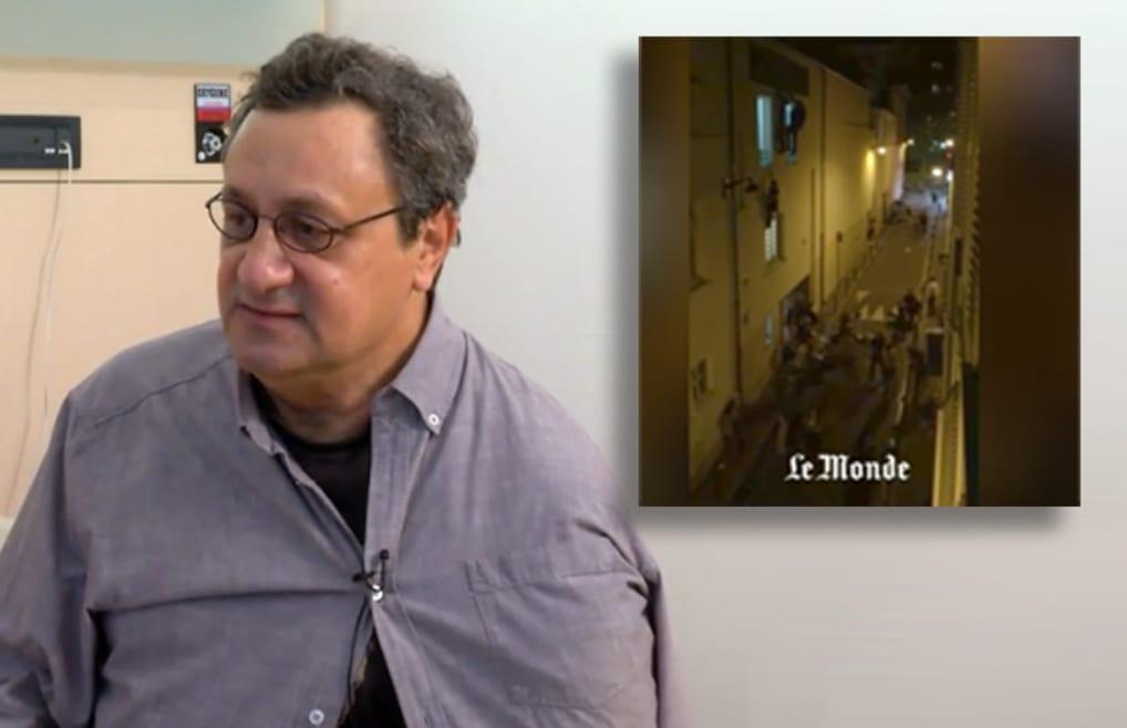Daniel Psenny a filmé puis aidé les survivants: