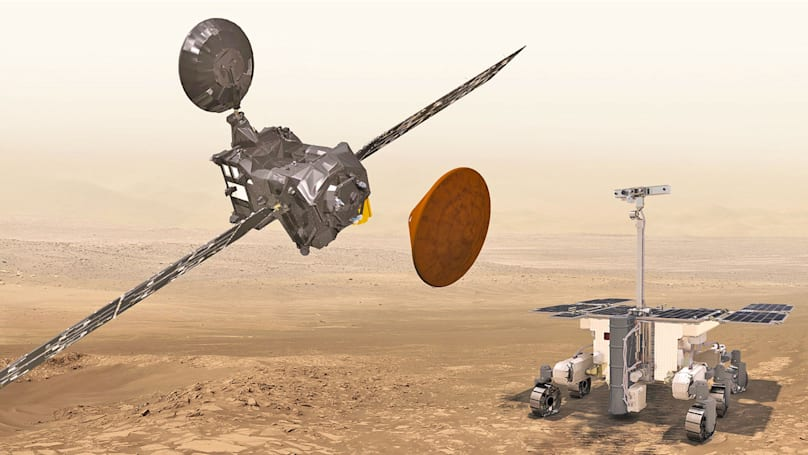 Europe and Russia move their ExoMars mission launch to 2020