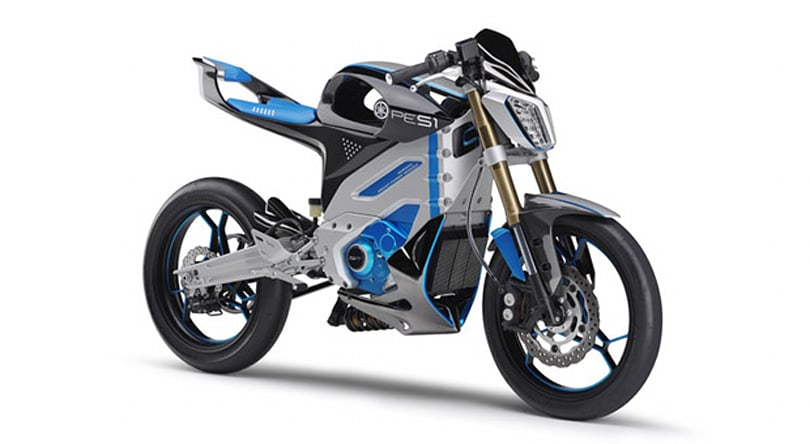 Yamaha outs lightweight PES1 electric motorcycle concept ahead of Tokyo Motor Show