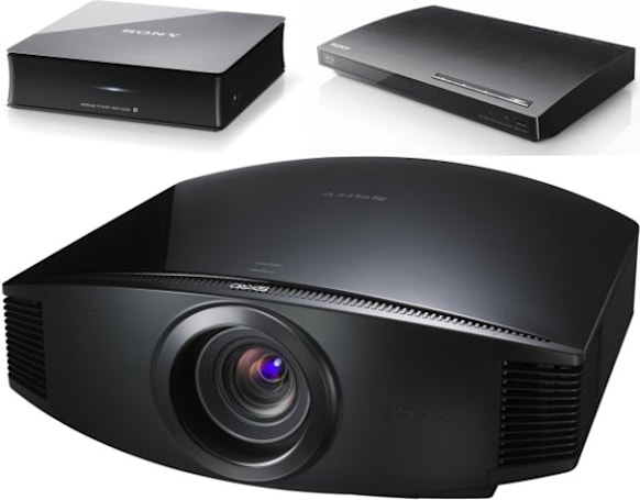 Sony's new internet TV box, projector and Blu-ray player make an appearance at IFA