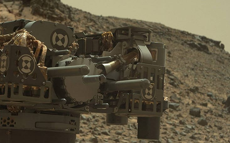 Curiosity rover's arm is suffering short circuits, but it's OK