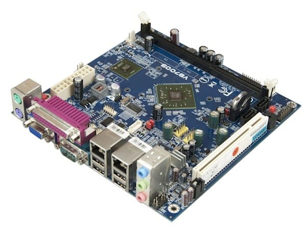 VIA VB7009 Mini-ITX board intended for POS, but HTPCs might want a piece too