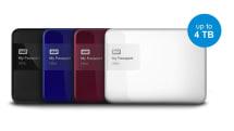 全線升級 4TB,WD My Passport 可攜式 USB 硬碟登台