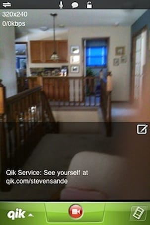 More streaming video fun: a first look at Qik Live for iPhone