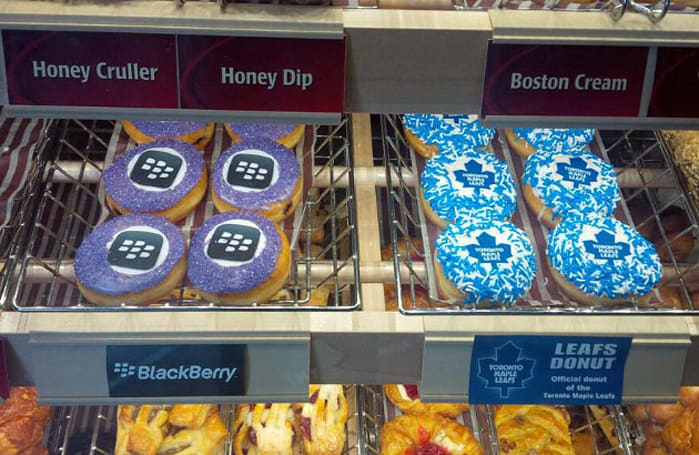 Use your smartphone to purchase donuts at Tim Hortons