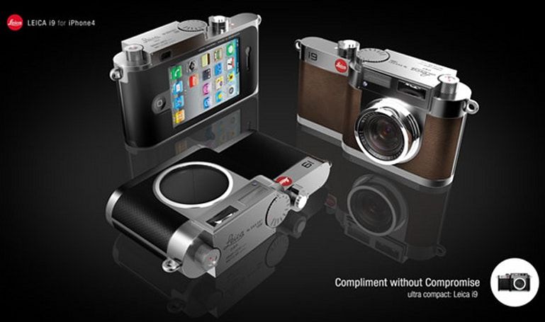 Leica i9 concept pairs $1,000 camera with $200 iPhone