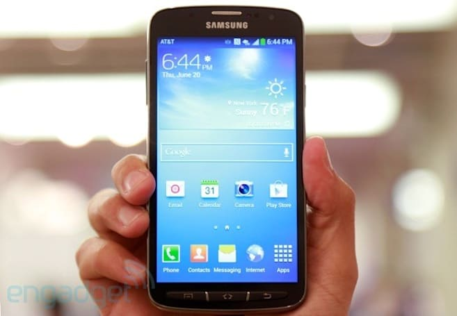Samsung Galaxy S4 Active from AT&T hands-on (video)
