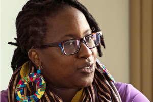 Kenyan writer and activist Tiffany Mugo