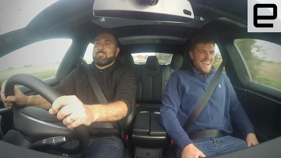 Tesla Model S Ludicrous Mode: Brits React