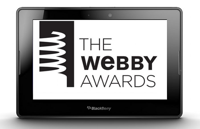We won some Webby Awards, and now you can win a BlackBerry PlayBook!