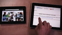 BlackBerry PlayBook and iPad go head-to-head in a browsing showdown