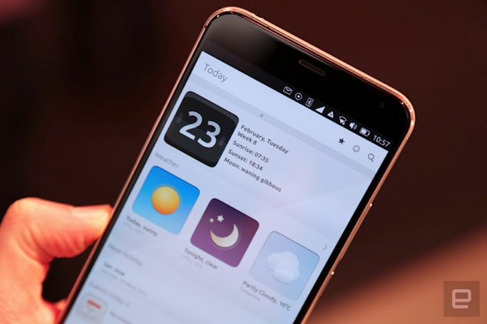A top Meizu phone can't hide Ubuntu's flaws