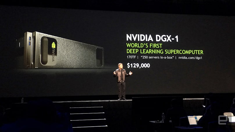 NVIDIA's insane DGX-1 is a computer tailor-made for deep learning