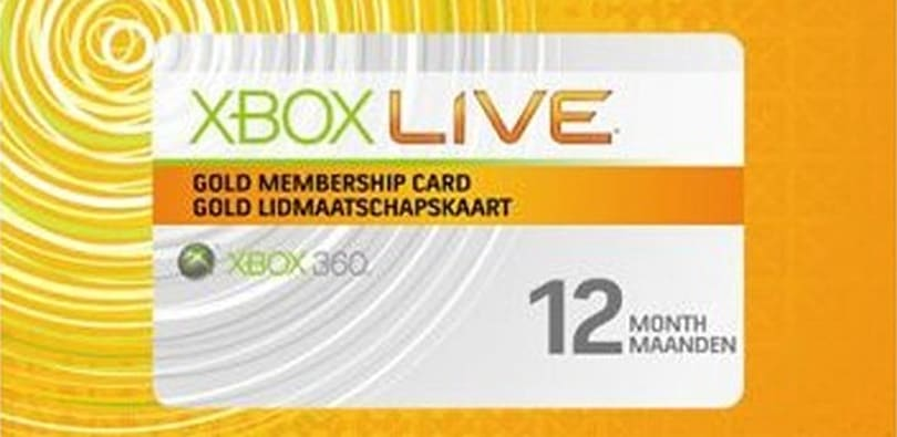 eBay selling 12 months of Xbox Live for $27.99