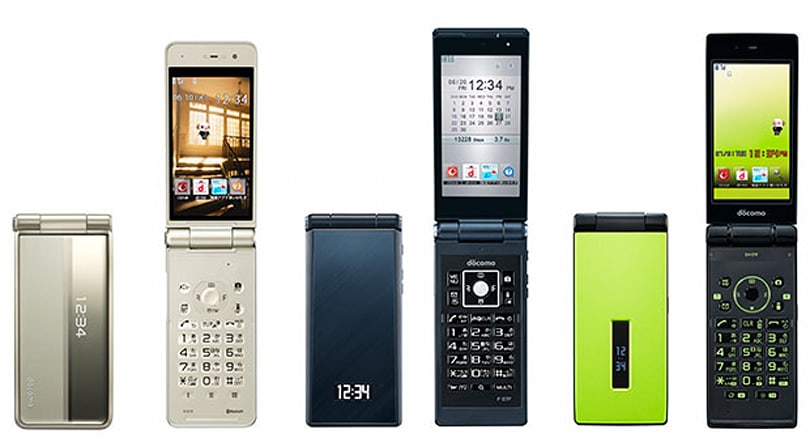 Japan's flip-phone love affair continues, smartphone shipments fall