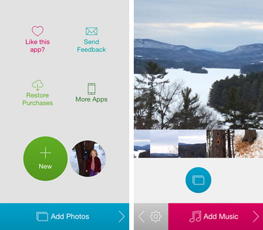 Daily App: PicFlow allows you to quickly combines photos and music into a stunning slideshow