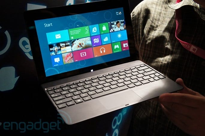 ASUS outs Tablets 600 and 810, Transformer-like slates running Windows 8