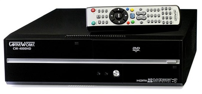 Captive Works intros CW-4000HD Linux Media Center