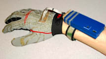 Clove 2 typing glove leaves your other hand free for high fives
