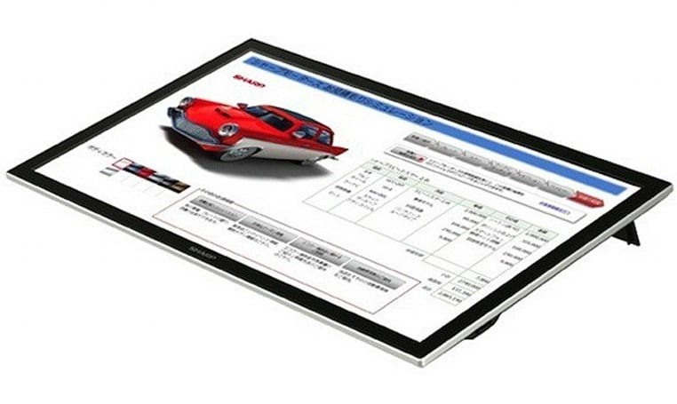 Sharp reveals the LL-S201A: a 20-inch multi-touch and stylus-friendly display