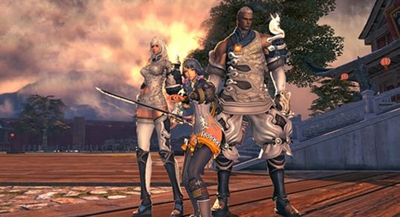 Blade and Soul videos feature PvP, gliding