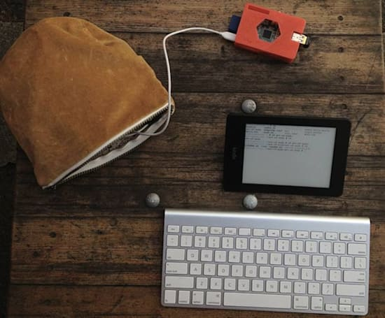 Hacker turns Kindle Paperwhite into wireless Raspberry Pi terminal