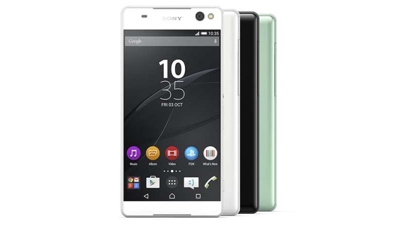 Sony's new mid-range phones take 13-megapixel selfies