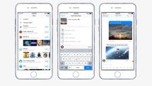 Facebook MessengerにDropbox連携機能、チャット上で画像や動画再生。ビデオチャットヘッド機能も追加