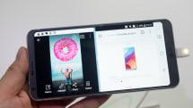 LG G6実機インプレ。縦横比2:1の狭額5.7インチ画面が魅力、Android 7.0の画面分割やInstagramで威力を発揮