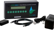 Cyber-Rain XCI gives you wireless control of your sprinkler system