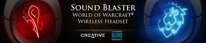 Creative set to unveil World of Warcraft headgear at BlizzCon