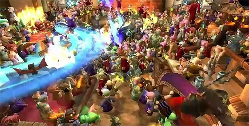 One-thousand-Gnome race invades WoW's Horde capital