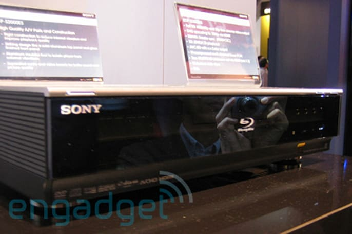 Hands-on with Sony's BDP-S2000ES Blu-ray player