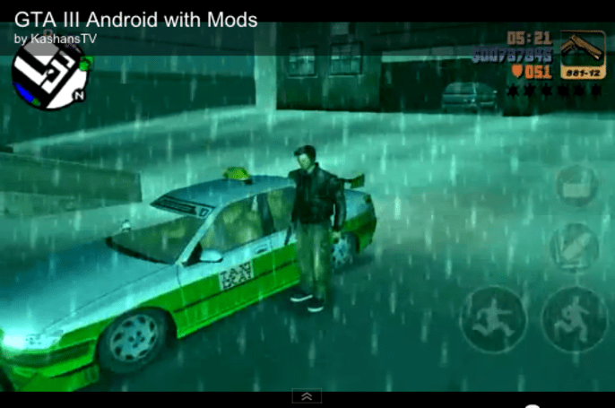 Forget Pay N' Spray: GTA3 for Android and iOS allows proper user mods
